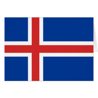 Iceland Flag Cards