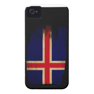 Iceland Flag iPhone 4 Case-Mate Cases