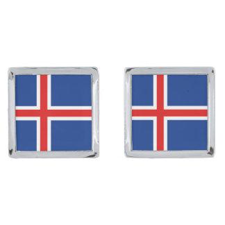 Iceland Flag Cufflinks