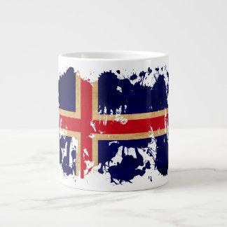 Iceland Flag Giant Coffee Mug