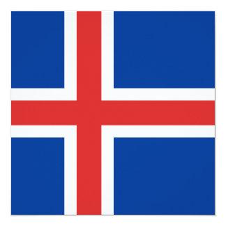 Iceland Flag Invitation