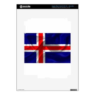iceland-Flag iPad 3 Skins
