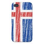 Iceland Flag iPhone 4 Case
