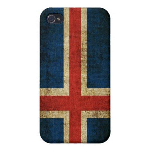 Iceland Flag iPhone 4/4S Case