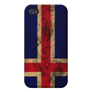 Iceland Flag Covers For iPhone 4