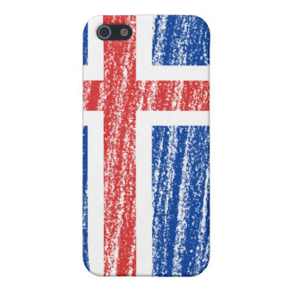 Iceland Flag iPhone SE/5/5s Cover