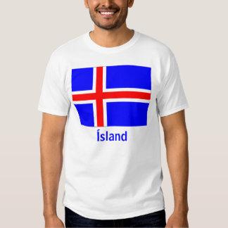 iceland-flag, Ísland Tshirt