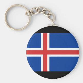 Iceland Flag Keychains