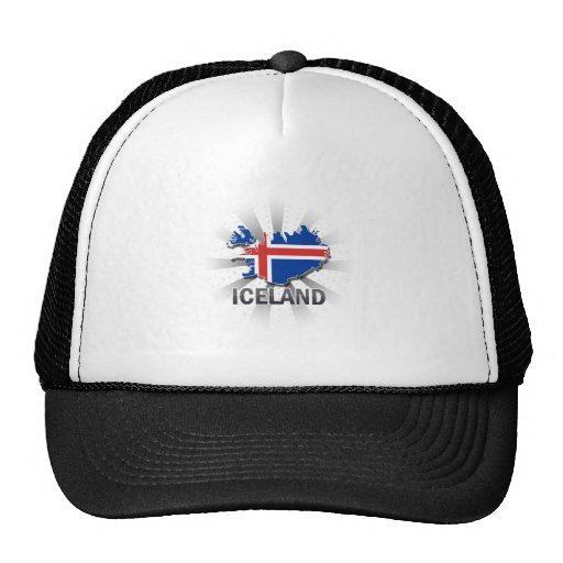 Iceland Flag Map 2.0 Trucker Hat
