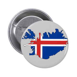 Iceland flag map button