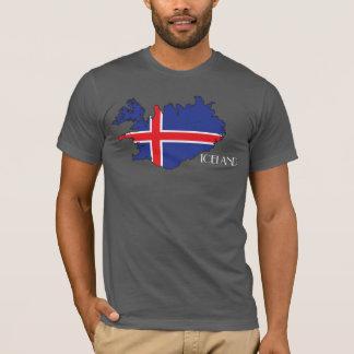 Iceland Flag-Map Shirt