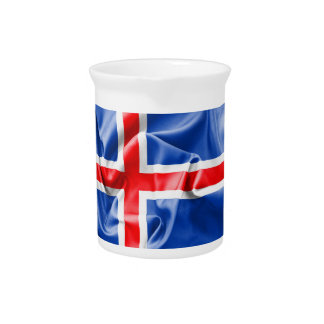 Iceland Flag Pitcher