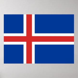 Iceland Flag Print