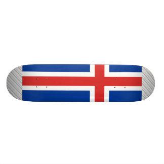 Iceland Flag Skate Board