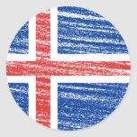 Iceland Flag Stickers