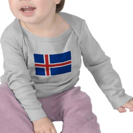 Iceland Flag T Shirt