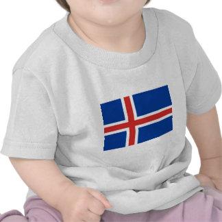 Iceland Flag T Shirts
