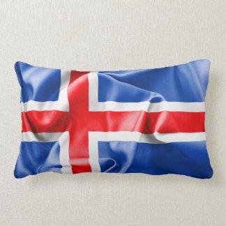 Iceland Flag Throw Pillow
