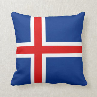 Iceland Flag x Flag Pillow