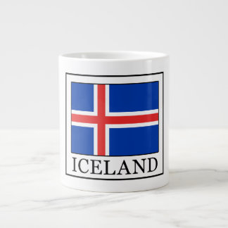 Iceland Giant Coffee Mug