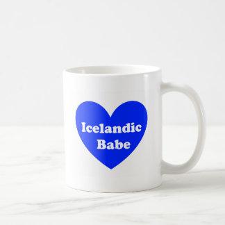 Iceland girl coffee mug