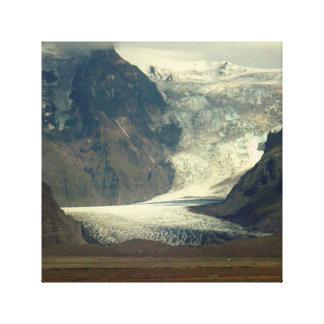 Iceland Glacier canvas