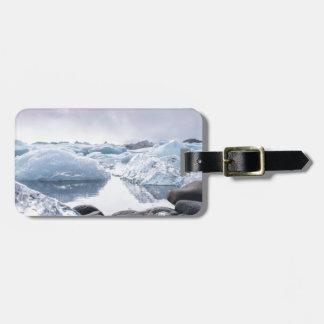 Iceland Glacier Lagoon Luggage Tag