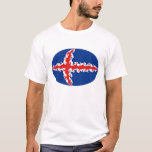 Iceland Gnarly Flag T-Shirt
