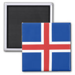 Iceland High quality Flag 2 Inch Square Magnet