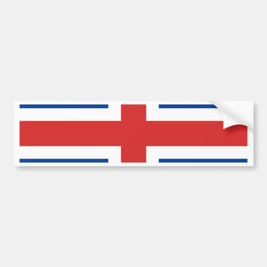 Iceland High quality Flag Bumper Sticker