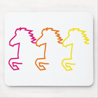 Iceland horse mouse pad