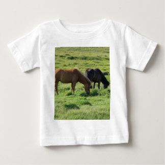 Iceland horses baby T-Shirt