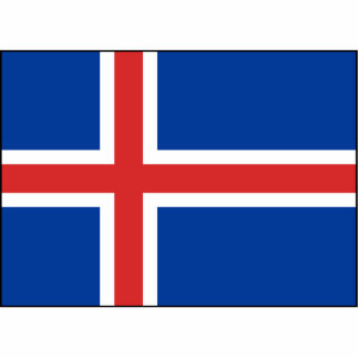 Iceland – Icelandic National Flag Statuette