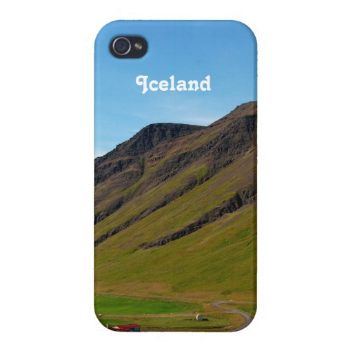 Iceland in Spring iPhone 4 Cover