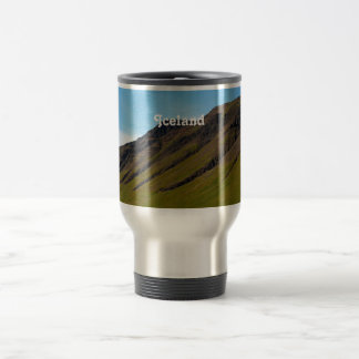 Iceland in Spring 15 Oz Stainless Steel Travel Mug