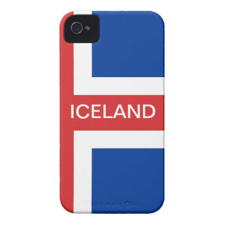 ICELAND iPhone 4 COVER