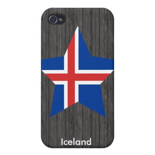 Iceland Cover For iPhone 4