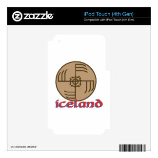 Iceland iPod Touch 4G Skins