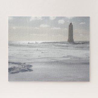 Iceland Jigsaw Puzzle - Malariff lighthouse Winter