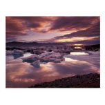 Iceland, Jokulsarlon Lagoon, Landscape Postcards
