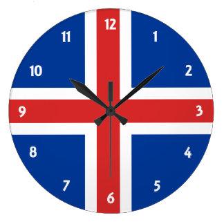 iceland large clock