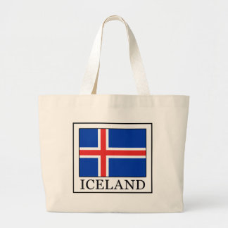 Iceland Large Tote Bag