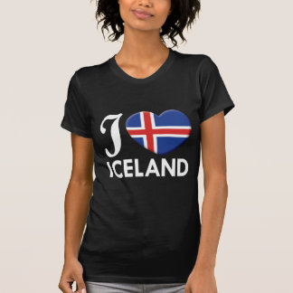 Iceland Love W T Shirts