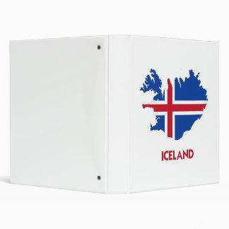 ICELAND MAP BINDERS