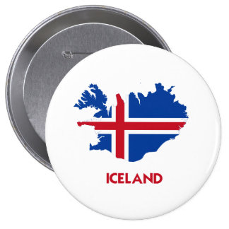 ICELAND MAP BUTTON