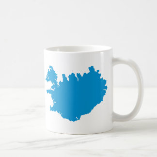 Iceland map mugs