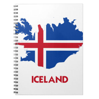 ICELAND MAP NOTE BOOK