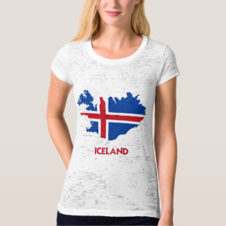 ICELAND MAP T-Shirt