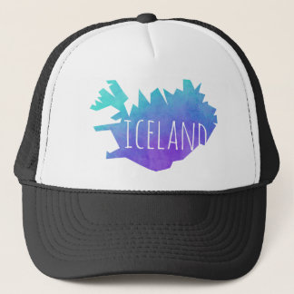 Iceland Map Trucker Hat