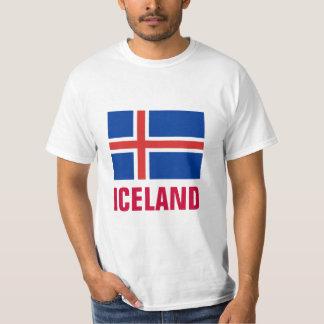 Iceland National Flag T Shirt